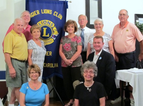 DG Randy Kirby visit Angier Lions